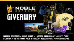 Win awesome and expensive gaming gears