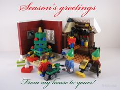 Season's Greetings! Have a very merry Brickmas!