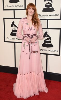 Florence Welch from Grammys 2016: Red Carpet Arrivals | E! Online