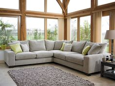 Corner Sofa Design for Small Living Room - Decoration landscaping architectural and artistic designs & decoration videos Corner Sofa Small Living Room, Grey Corner Sofa, Room Corner, Living Room Sofa, Corner Sofa Design, Beautiful Sofas, Living Room Designs, Decoration, Home Decor