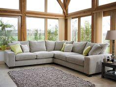 Large Corner Sofa | British Made