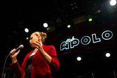 Jazz singer Susana Sheiman Sala Apolo © Nuria Aguade #Swingmusic #music #bigband #Lindyhop #Showphotography #Swing #dance #Barcelona