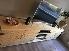 #wood #tvstand #rustic #myhome 💕