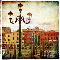 Venetian vintage card..