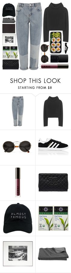 """""""Untitled #870"""" by starit ❤ liked on Polyvore featuring Karen Millen, Haider Ackermann, Prada, NARS Cosmetics, adidas, LORAC, Chanel, Nasaseasons, Stash Tea and Crate and Barrel"""