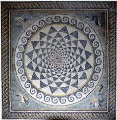 roman circular mosaics - Google Search