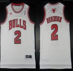 nba jerseys chicago bulls 2 nate robinson black road swingman jerseys 496a08360