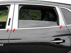 MKX 2016 LINCOLN (6 pieces: Pillar Post Trim Kit) PP56661