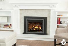 The Valor gas insert exudes radiance, high efficiency and the ultimate in comfort control. Custom Fireplace, Home Fireplace, Valor Fireplaces, Gas Insert, Superior Homes, Room Corner, Energy Efficient Homes, Fireplace Inserts, Home Comforts