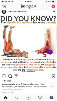 Yoga fitness - Legs up the wall Yogaposes Pilates Fitness Workouts, Fitness Motivation, Fitness Diet, Yoga Fitness, Pilates, Yoga Sport, Stretching Exercises, Stretches, Get In Shape