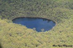 An aerial view of Basin Lake as shared by Mark P  #fraserexplorer #fraserisland #queensland #australia www.fraserexplorertours.com.au
