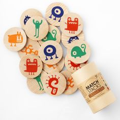 Tree Hopper Toys Match Stacks Monster   Supergoods Ecodesign & Fair Fashion