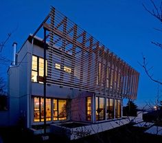 Screen House - modern - spaces - vancouver - Randy Bens, Architect AIBC