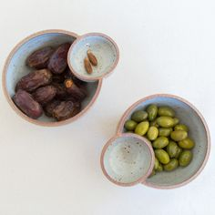 10 New Female Ceramic Artists We Love ceramic food bowls with olives and dates Ceramic Clay, Ceramic Plates, Ceramic Pottery, Pottery Art, Slab Pottery, Thrown Pottery, Olives, Sculptures Céramiques, Ceramic Sculptures