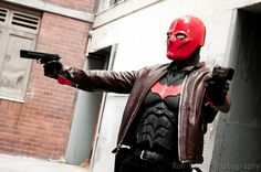 Red Hood/Jason Todd Photographed by Ron Gejon Photography