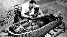 Restos de Tutankamon