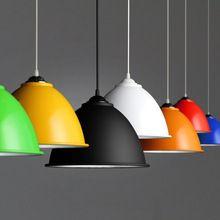 Aluminium Lampshade simple pendent light single head decorative industry style Pendant lamp for bar cafe(China (Mainland))