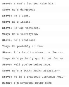 I can't xD #Bucky #Avengers #Marvel
