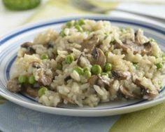 Risotto au poulet, champignons et petits pois spécial Cookeo : http://www.fourchette-et-bikini.fr/recettes/recettes-minceur/risotto-au-poulet-champignons-et-petits-pois-special-cookeo.html