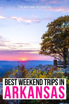 Need the best weekend trips in Arkansas? From cool cities to state parks to small towns, here's your Arkansas getaway bucket list! weekend getaways in Arkansas | Arkansas weekend getaways | best places to visit in Arkansas | where to go in Arkansas | things to do in Arkansas | things to see in Arkansas | what to do in Arkansas | romantic getaways in Arkansas | Arkansas travel guide | Arkansas vacation guide | Arkansas road trip ideas | travel tips for Arkansas | best places to go in Arkansas