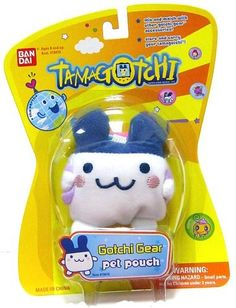 Gotchi Gear: Pet Pouch -  Mimitchi & Lanyard by Bandai. $3.75. From the Manufacturer                Kids can use the Gotchi Gear lanyard to carry their favorite Tamagotchi Connection toy around their neck, on their belt, or hooked to their backpack. Each lanyard is stylized with images of your favorite Tamagotchi character and includes a miniature figurine to match. The new lanyard is a perfect gift for any Tamagotchi collector, both young and old alike! Notes: This item is only ...