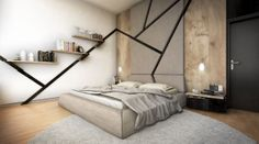 L House-Project by Metropolis-Bedroom