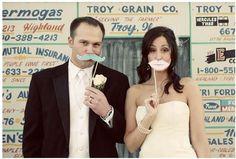 Imprimibles para una boda bigotuda
