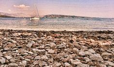 Kerasia beach by Marios Provatas, via Behance