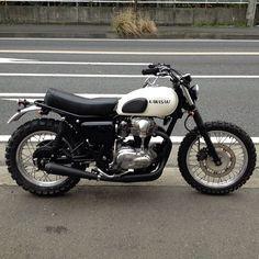 KAWASAKI W650 SCRAMBLES - M&M's motorcycle BLOG