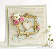 Heart Cards, Love Cards, Cardmaking, Valentines Day, Anna, Scrapbooking, Frame, Google, Decor