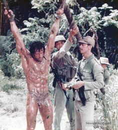 Rambo: First Blood Part II - Publicity still of Sylvester Stallone. The image measures 765 * 843 pixels and was added on 25 December Rambo 2, Art Football, Silvester Stallone, Superman Movies, First Blood, Rocky Balboa, Belly Dancers, Hollywood Celebrities, Handsome Celebrities