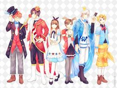 RFA X Alice in the Wonderland