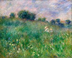 Pierre Auguste Renoir - Meadow 1880