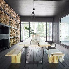 Atelier Barda : Chalet forestier - ArchiDesignClub by MUUUZ - Architecture & Design