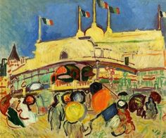 The Casino, by Raoul Dufy (French, 1877-1953),