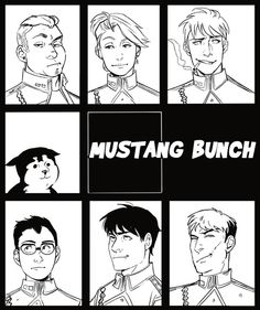 Team Mustang - different style :)