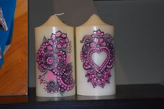 HENNA CANDLE by CREATIVEDESIGNSBYHET on Etsy