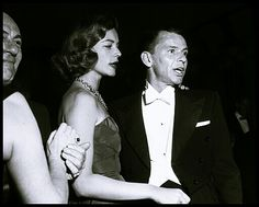 Lauren Bacall and Frank Sinatra