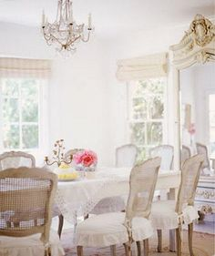Shabby French Country, beautiful dining room by Ana Rosa