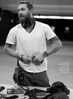 How is he even possible?   Tom Hardy • | Esquire UK, May 2015 | photographs by Greg Williams