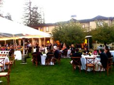 Transforming your backyard | LRE CATERING