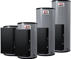 We need a new water heater. We have to wait an entire hour in between showers if we want hot water, and it's getting ridiculous. Maybe we'll check out someone like this. Commercial Hvac, Commercial Electric, Product Information, Covered Boxes, Insulation, Water, Showers, Hot, Check