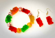You can make jewelry out of them. | 21 Things Every Gummy Bear Lover Should Know