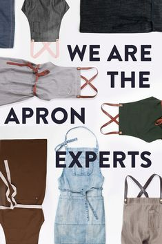 With exclusive fabric technology, industry leading style, unique design and built for work functionality – we're the industry leading Apron experts 🙌 Our hard-working aprons are worn by the best crews around Australia and the globe | Cafe Apron | Barista Apron | Chef Apron | Kitchen Aprons