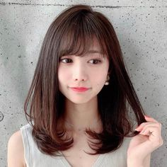 Medium Long Hair, Medium Hair Cuts, Medium Hair Styles, Long Hair Styles, Hair Reference, Shoulder Length Hair, Girly Things, Girly Stuff, Hair Looks