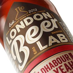 I recently helped @Elmwood with the new ident for Brixton-based craft brewery London Beer Lab.   #beer #packaging #type #design #calligraphy #logo #logotype #ligature #lettering #hand #handlettering #typography #brand #craft #handcrafted #drawing #handdrawn #letters #customtype #vectors