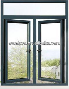 Guangzhou Factory Powder Coating Aluminum Casement Window Double Glazed windows, View powder coating, Product Details from Sendpro Window An...