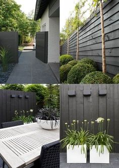 7 Eye-Opening Cool Tips: Vintage Garden Fence garden fencing.Front Yard Fencing For Dogs black fence country. Black Garden Fence, Garden Fencing, Black Fence, Green Garden, Green Fence, Garden Path, White Fence, Backyard Fences, Backyard Landscaping