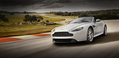 A gorgeous new Aston Martin to begin with