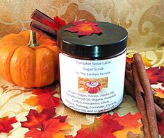 Pumpkin Spice Latte Whipped Sugar Scrub by TheEarthenTemple